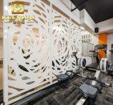 Partición decorativa interior de la pared del acero inoxidable