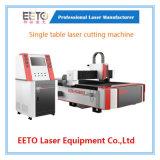 Alta calidad de la máquina cortadora láser de metal con generador 1000W