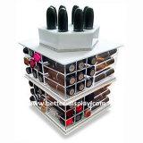 Organizador giratorio del maquillaje del acrílico 360 de encargo