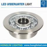 Hot Sale Imperméable IP68 18W à LED lumière sous-marin