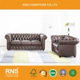 Конструкция Честерфилд комбинации кожаный диван Office диван A01