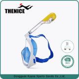 Prise d'air plongeante de masque du premier vendeur 2017 avec l'anti masque imperméable à l'eau de plongée de pleine face de regain