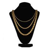 Modelli della collana dell'oro di Missjewelry 18K, 20 grammi dell'oro di disegni della collana