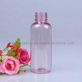 백색 나사 모자 애완 동물 11를 가진 분홍색 50ml 플라스틱 병