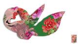 Fare--Ordine di seta normale floreale della sciarpa
