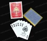 El póker plástico modificado para requisitos particulares de las tarjetas que juegan del póker del diseño carda la tarjeta de juego de póker