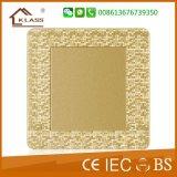 Equipo de detección de mosaico dorado champán Toma