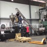 Schrauben-Förderanlage für das Transportieren des Plastikpuders zur Extruder-Maschine
