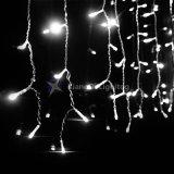 C7C9 música Icicle Mini-base do parafuso de Natal Árvores de Natal para Interior/Exterior Luz decorações 0,5W