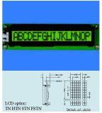バックライトのないStnの文字LCDモジュールStce16202