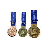 Marathon Palted noir Sport médaille La médaille de métal de l'exécution