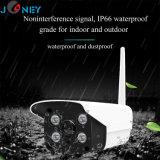 Drahtloses Netzwerk CCTV-Kamera der Unterstützungs-TF-Karten-Speicherp2p-Wolken-Technologie-HD