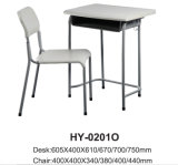 Vector del estudio del buen diseño y escritorio plásticos de la escuela de las sillas