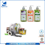 Autoadesivo cosmetico del contrassegno della bottiglia dello sciampo rotolato stampa di Cmyk