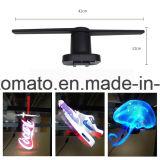 Pleno Ojo del ventilador de LED holográfica en 3D Visualización de publicidad