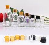 Botella de cristal transparente del cuentagotas (NBG02)