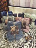 ベルベルのビロードのプラシ天の贅沢毛布21の優れたリバーシブル
