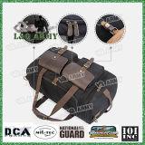 El cuero Canvas Duffle Bag durante la noche de Fin de semana Viajes de la bolsa Tote Duffel equipaje