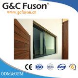Sola ventana del toldo de aluminio de cristal exterior de la apertura