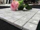 Mosaico del quadrato bianco di Carrara di prezzi bassi per le mattonelle della piscina