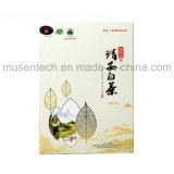 Het witte Scherm die van de Kleur de Vakjes van het Karton van het Duidelijke Document met de Voering van de Zijde afdrukken