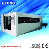 Ezletter realçou o laser Exchangeable da fibra da estaca do metal da plataforma do CNC