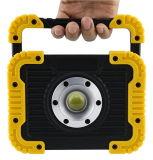 5W旋回装置のハンドルが付いている携帯用作業ライトInpectionランプ4AA