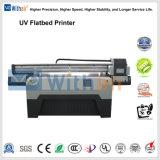 Impressora plana UV Konica com Km512/1024 14pl, cabeça de impressão de 1440*1440 dpi
