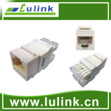 CAT6 UTP RJ45 90 Grad Tooless faltender Typ Fundament Jack