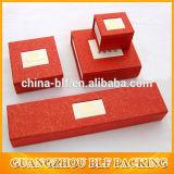 L'emballage en carton de papier de luxe Bijoux boîte cadeau