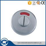 Het Slot van de Deur van het Glas van het Toilet van het roestvrij staal met de Knop van de Indicator