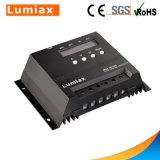 contrôleur de charge de la pile 60A solaire avec l'écran LCD