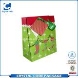 Los nuevos productos crean la bolsa de papel para requisitos particulares promocional del regalo
