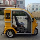 Triciclo Handicapped do passageiro do freio de disco para Sightseeing