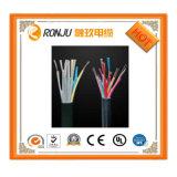 Câble de commande isolé par PVC de cuivre solide de gaine de conducteur (KVV)
