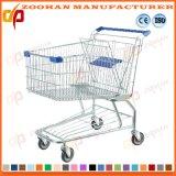 Supermarkt-asiatische Art-Einkaufen-Laufkatze (Zht30)