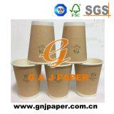 Kundenspezifisches Wegwerf100ml eingewachsenes Packpapier-Cup