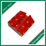 Rectángulo acanalado de encargo del cartón del transporte y de la logística de la impresión