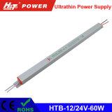 alimentazione elettrica di commutazione del driver dell'alimentazione elettrica di 12V/24V 60W LED LED