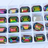 Pietra di pietra di cristallo dei monili di rettangolo di alta qualità per la fabbricazione dei monili (3007)
