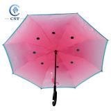[ك-هندل] [دووبل لر] مفتوح/قريبة في الشريط مظلة عكسيّة
