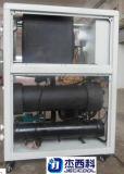 refrigeratore di acqua a forma di scatola Scrool del refrigeratore raffreddato ad acqua di 3HP 5HP 10HP