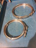 Aro del hierro, abrazadera de manguito del acero inoxidable