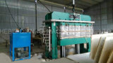 合板の削片板MDFを作るための自動油圧熱い出版物機械