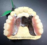 طقم أسنان صناعة قالب جبس يضيف هيكل [فلبلست]/طقم أسنان مرنة مع ترحيب أسن