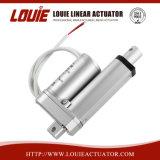 Actuador lineal eléctrico en el motor de cepillo