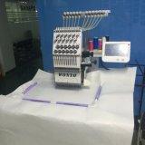 Wonyoデザインのためのソフトウェアとの単一ヘッド15針のコンピュータの刺繍機械価格