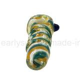 Tubo di fumo della mano del più nuovo di disegno tubo di vetro unico del cucchiaio (ES-HP-348)