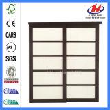 Verkaufs-festes Holz-Tür-Verschluss-Glastür-Schiebetüren