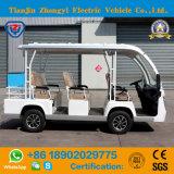 Tipo 8 Seater de Zhongyi elétrico fora do carro Sightseeing da estrada com certificado do Ce